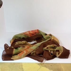 Cover up-Parea-wrap-Scarf!.Seashore print.NWOT